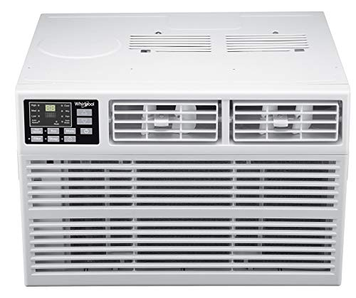 Whirlpool WHHW182AW Window-Mounted Air Conditioner, 18000 BTU, White