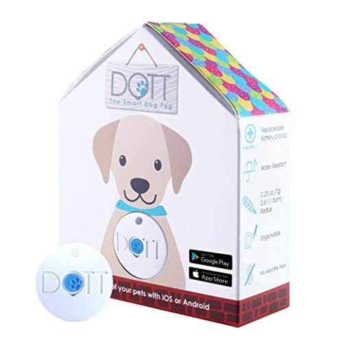 DOTT The Smart Dog Tag - Bluetooth Tracker for Dogs and...