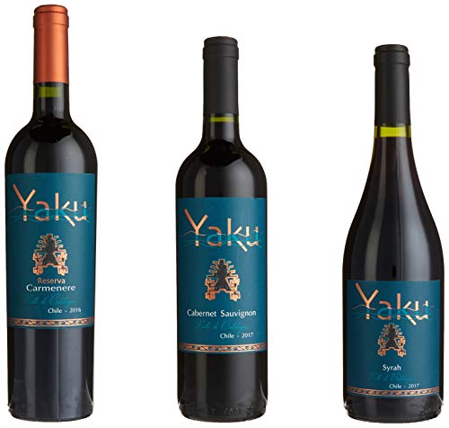 Wein Probierpaket Yaku Wines from Chile (6 x 0.75 l)