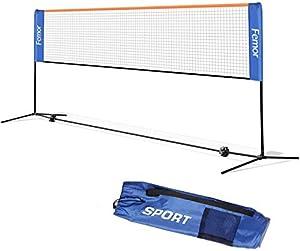 femor Badminton Netz 5m mit verstellbaren Höhen