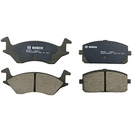 With Two Years Manufacturer Warranty Brake Pads Include Hardware Front Disc Brake Rotors and Ceramic Brake Pads for 1995 Toyota Tercel