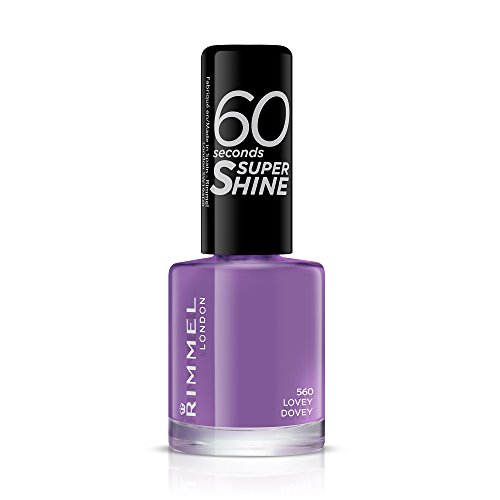 Rimmel 60 Seconds Super Shine - Vernis à Ongles Lovey Dovey 8 ml Mauve