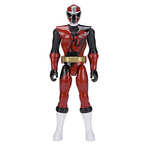 Power Rangers 43621Ninja Stahl 30cm, rote Ranger Figur