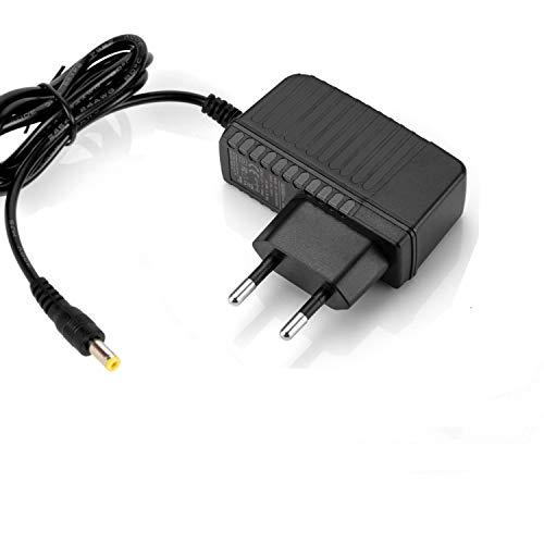 Aukru - Alimentatore di rete, caricabatterie, 9,5 V, 1A, per tastiera Casio SA-46 SA-47 32 tasti e mini-sintetizzatore MS-20