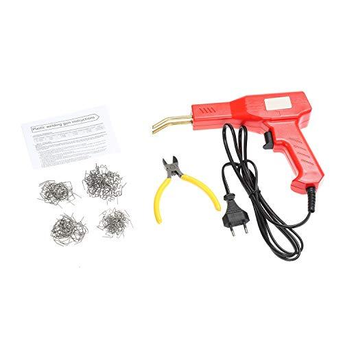 Grapadora de Caliente 220V M/áquina de Pistola de Soldadura Pl/ástica con 600pcs Grapas BELEY Equipo de Soldador de Pl/ástico para Reparaci/ón de Parachoques de Autom/óviles