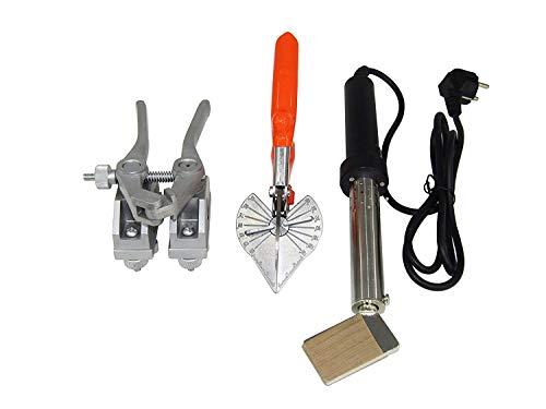 BAOSHISHAN PU Rundbandschweißmaschine Polyurethanband Heißschmelzmaschinenanschluss mit Schere mit Lötkolben (ein Satz) 220V