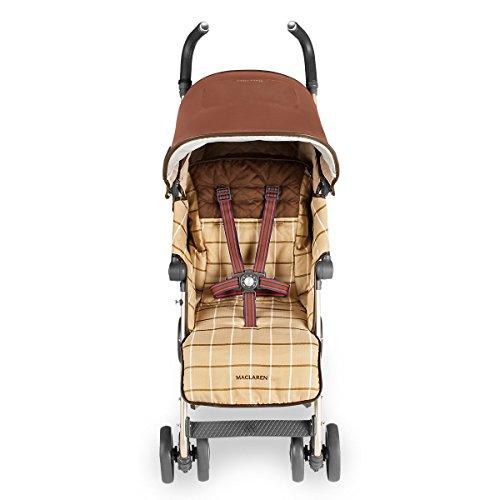 Maclaren Albert Thurston Buggy – Voll ausgestattet, leicht, kompakt, schnell zu falten. Für Neugeborene+.  Vollständig verstellbarer Sitz, erweitertes Verdeck, Einkaufskorb. Zubehör inklusive