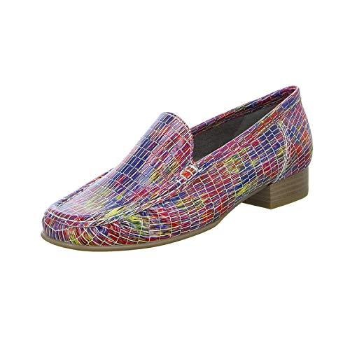 Jenny by Ara 22-50137-78 - Zapatillas de media caña para mujer, color Rojo, talla 37 EU