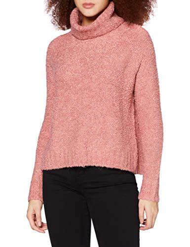 ONLY Damen ONLOLIVIA L/S Loose Rollneck EX KNT Pullover, Blush, M