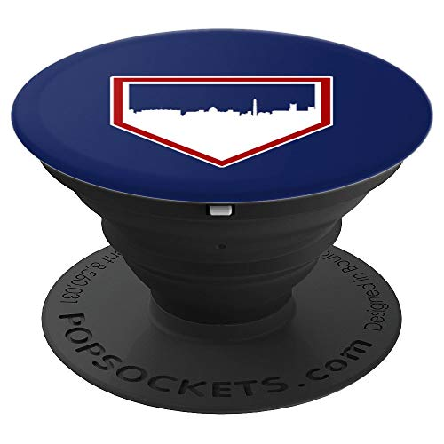 Vintage Washington Baseball DC Home Skyline PopSockets Grip and Stand for Phones and Tablets