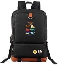Ausan Davis Wings of Fire Tribes Backpack Outdoor Hiking Daypacks Laptop Backpacks Vintage School Bag for Men Women Travel Rucksack Large Capacity College Bookbag