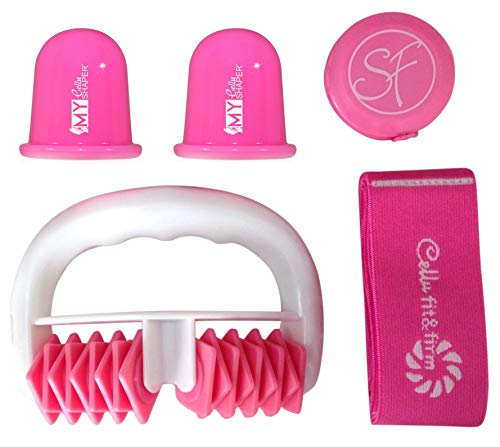 Stephanie Franck Beauty Kit2 AntiCellulite - body roller, ventouses et élastique