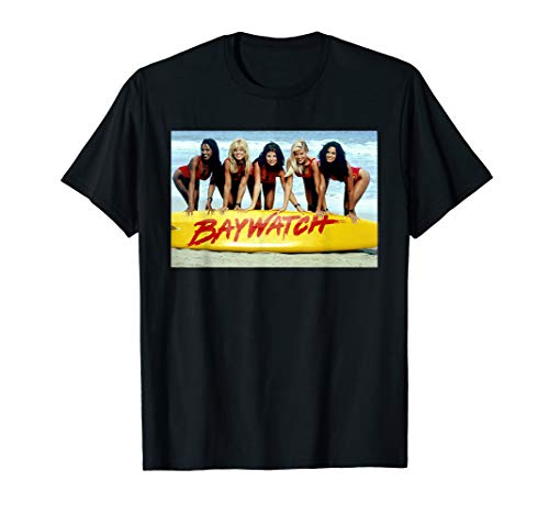Baywatch 90s Babes Official Photo T-Shirt, Adults and Kids