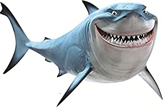 14 Inch Bruce the Shark Fish are Friends Finding Nemo 2 Movie Removable Peel Self Stick Wall Decal Sticker Art Bathroom Ki...