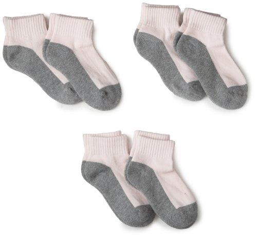 Jefferies Socks Mädchen Socken Gr. 23/24.5 DE XS, pink/grau