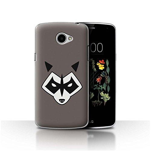 Hülle Für LG K5/X220 Superheld Comic-Kunst Rocket Raccoon Inspiriert Design Transparent Ultra Dünn Klar Hart Schutz Handyhülle Hülle