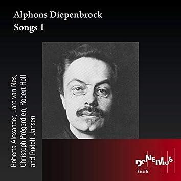 Alphons Diepenbrock: Songs 1