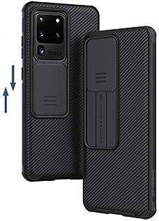 جراب هاتف Samsung Galaxy S20/S20 Plus /S20 Ultra A51 A71، جراب حماية من الانزلاق للكاميرا NILLKIN (S20 Ultra,أسود)