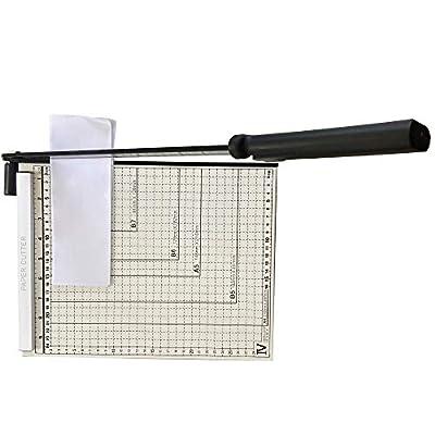 A4 Paper Cutter Guillotine Paper Cutter Paper Trimmer Paper Trimmer-Can Trim Files,Photos,Improve Cutting Precision
