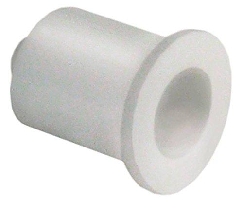 Horeca-Select Buchse für GGC1270 für Türscharnier ø 13mm Innen ø 7mm D1 ø 10mm Kunststoff Höhe 15mm Kunststoff