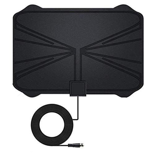 Digital TV Antenna, 4K Full HD Channel Digital HDTV Antenna 200 Miles Range Signal Booster Easy Setup And Use Smart TV Digital Antenna Adopts Signal Amplification TV Head With F Adapter Signal Booster