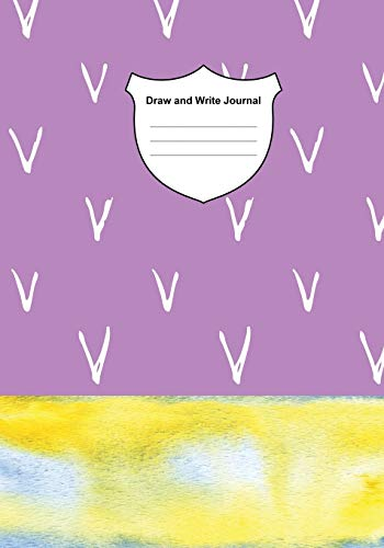 Draw and Write Journal: Notebook for Kid Story Paper with Picture Space for Title, Drawing Journals, Illustrations and Centered Dotted Lines for Handwriting Guide : 100 pages, 7 x 10 Inches