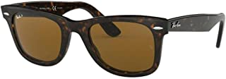 Original Wayfarer RB2140 5022 902/57 Tortoise/Crystal Brown Polorized Sunglasses