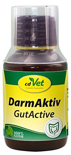 cdVet Naturprodukte DarmAktiv Hund & Katze 100 ml - Hund, Katze - Ergänzungsfuttermittel - Unterstützung der Darmflora - fördert die Verdauung - stärkt das Immunsystem - Verdauungsprobleme -