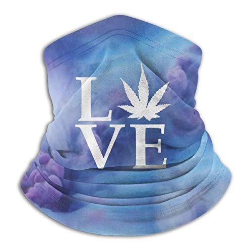 LKQTH Love Pot Unkraut-Topf-Halstuch, Gesichtsmaske, Bandana, für Männer und Frauen