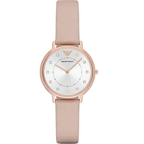 Emporio Armani Reloj para Mujer de Cuarzo con Correa en Cuero AR2510