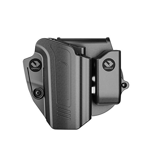 Orpaz SP2022 Holster Compatible with Sig Sauer SP2022, Right-Hand Modular OWB Holster (Level I Retention, with SP2022 Magazine Holder)