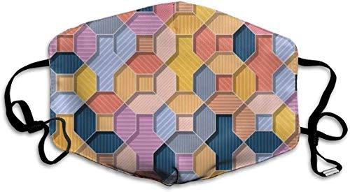 NA Abstract Vector Multi kleuren Wal Gepersonaliseerde maskers winddicht warme maskers waterdichte maskers kunnen worden hergebruikt bij het uitgaan