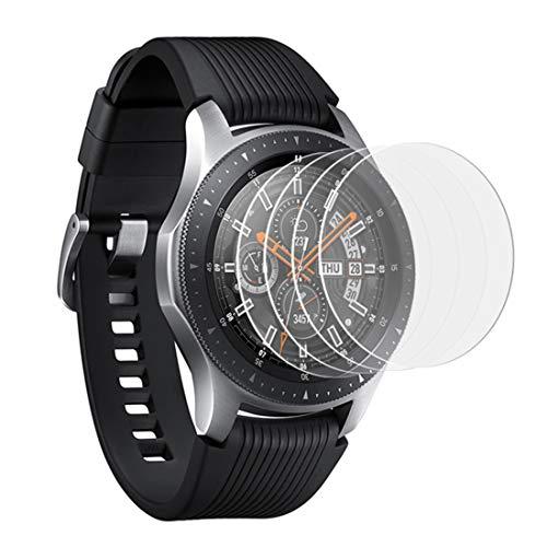 KARYLAX [Pack x6] Protector de pantalla de vidrio Nano flexible, dureza 9H, ultrafino 0,2 mm y 100% transparente para Samsung Galaxy Watch Activer 2 reloj inteligente
