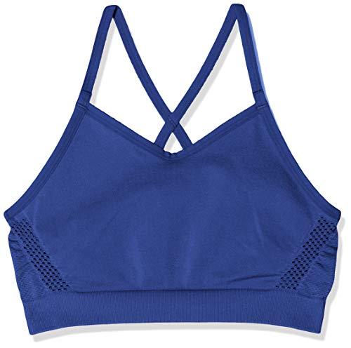 Nike Mädchen G Seamless Dry Sports Bra, Blue Void, XL
