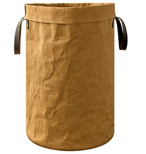 Amorar Aufbewahrungskorb Wäschekorb Sortierer Faltbar aus Dupont-Papier Wäschesammler Wäschesack Haushalt Organizer Korb Kinder Spielzeug Aufbewahrungstasche, EINWEG Verpackung