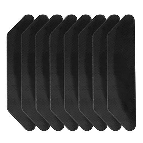 Vaugan 8 Stück / Set wiederverwendbare Teppich-Aufkleber, Teppich-Pad-Griff-Boden-Anti-Rutsch-Klebeband