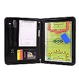 Ldd Juego de tableros de Entrenador de fútbol Set Magnetic Coaching Strategy Board Kit de fútbol Plegable Placa de enseñanza de Voleibol de Baloncesto