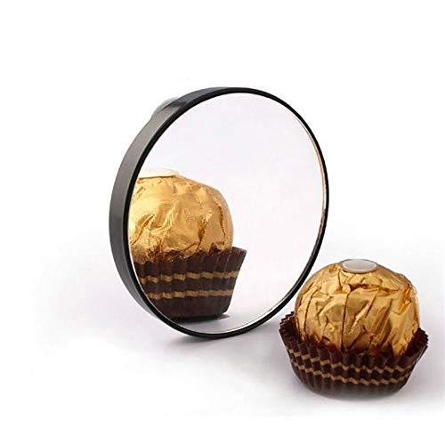 CZFSKCZ Specchio Portatile a Specchio Portatile a Specchio da ingrandimento 5X con Ventosa Mini Specchio da Taschino Rotondo Specchio Rotondo