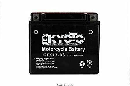 Kyoto - Batería moto YTX12-BS / GTX12-BS 12V 10Ah