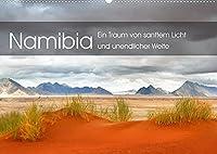 Namibia: Ein Traum von sanftem Licht und unendlicher Weite (Wandkalender 2022 DIN A2 quer): Eine vom Licht durchdrungene Reise durch Namibias magische Orte und malerischte Landschaften. (Monatskalender, 14 Seiten )
