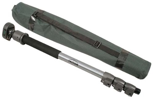 Triton Einbeinstativ, Monopod mit Kugelkopf und Tasche, bis ca. 5kg belastbar, FMX18
