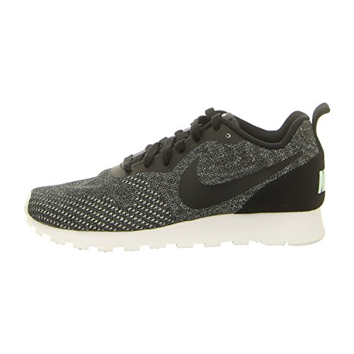 Nike MD Runner 2 Eng Mesh, Damen Laufschuhe, Schwarz (Black/Black-Igloo-White 003), 39 EU (5.5 UK)