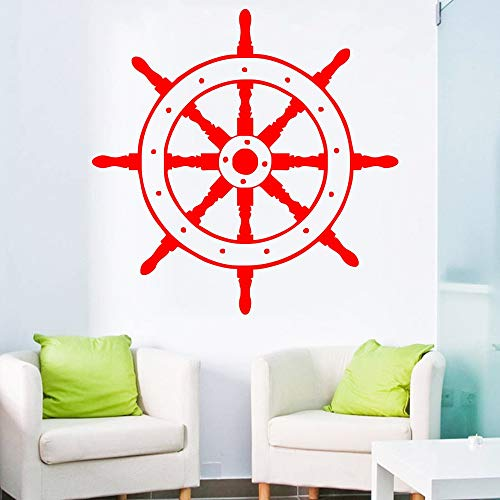 Nautical Sailor Wandtattoo Schiff Rad Dekor Aufkleber Vinyl Wandkunst Aufkleber Removable Home Wanddekoration Vinyl...