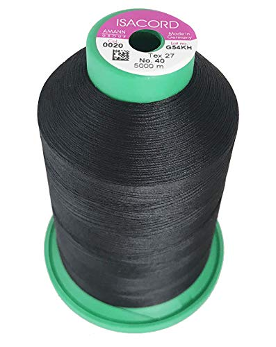 Cheapest Price! Isacord Embroidery Thread, Black Thread 5000M color 0020