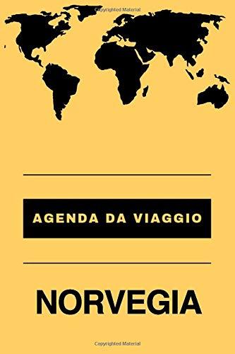 Agenda da viaggio NORVEGIA: Diario | Taccuino per scrivere se stessi | Regalo perfetto per ogni viaggiatore
