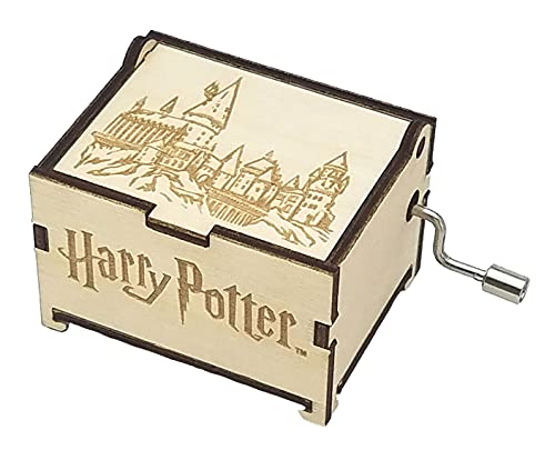 TheLaser'sEdge, Harry Potter Mini with The Music of Hedwig's Theme, Personalizable Laser Engraved Music Box (Standard)