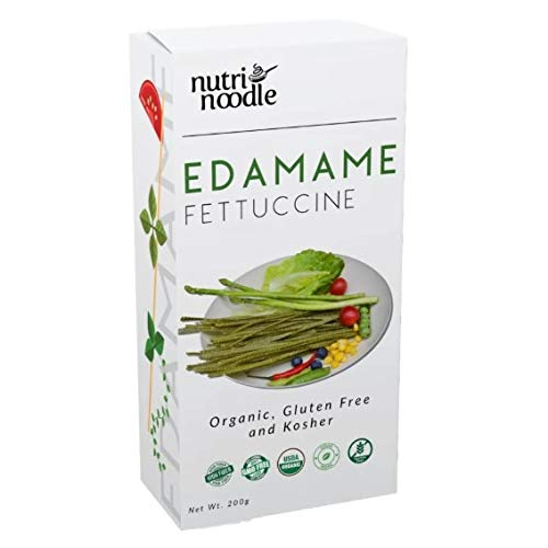 NutriNoodle Our shop OFFers the best service Organic Denver Mall Edamame Protein 3 Packs Fettuccine
