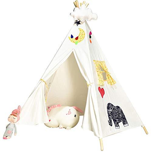 ZYD Tente Jeu Simulation Tente De Jouet pour Enfant Motifs ImpriméS Portables Enfants Respirant RéSistant Aux Insectes Tente Rampante Ombre du Soleil Vent Maison Heureuse pour Enfants