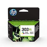 HP 303XL T6N03AE - Cartucho de tinta original de alto rendimiento, tricolor, compatible con impresoras de inyección de tinta HP Tango y Tango X; Envy 6220, 6230, 7130, 7830