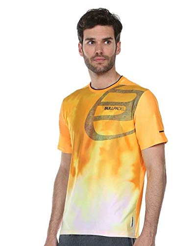 Bullpadel Camiseta Aranju, Hombre, Mandarina Fluor, M